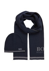BOSS - GIFT AINY - Scarf - dark blue - 4