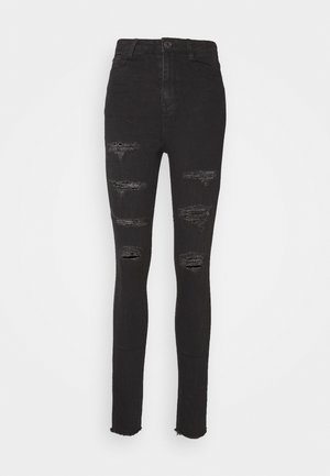 SINNER EXTREME RIP - Jeans Skinny Fit - black