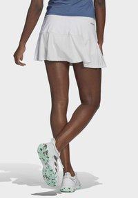 adidas Performance - TENNIS MATCH SKIRT - Sports skirt - white - 1