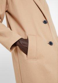 Dorothy Perkins Tall - UNLINED CROMBE - Zimní kabát - camel - 5