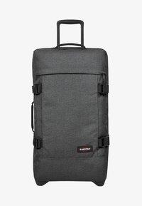 Eastpak - TRANVERZ - Wheeled suitcase - black denim - 1