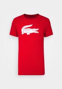 Lacoste - T-shirt imprimé - rouge/blanc - 0