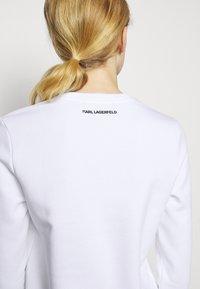 KARL LAGERFELD - IKONIK  - Sweatshirt - white - 6