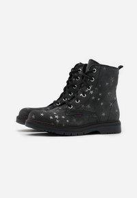 Richter - PRISMA - Lace-up ankle boots - steel - 1