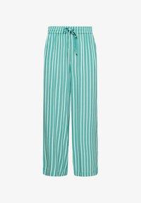 light green stripes