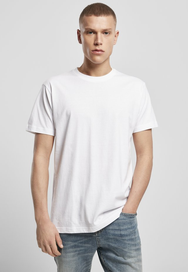 3 PACK - T-shirt basic - wht/wht/wht