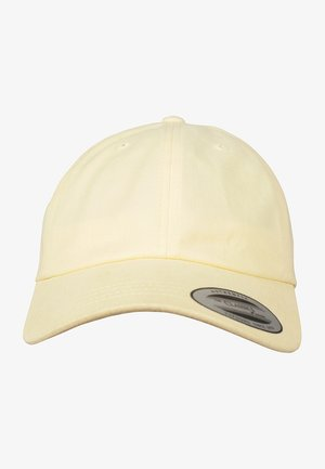 PEACHED COTTON TWILL DAD - Cap - yellow