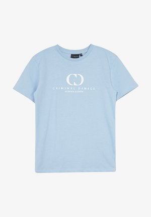 ORDINATE TEE - Triko s potiskem - blue/reflective white