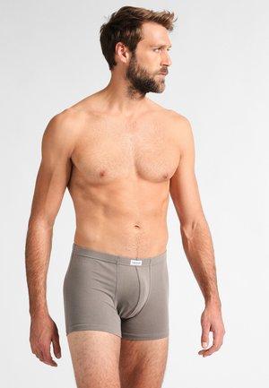 3 PACK - Pants - grau dunkel melange
