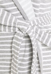 Anna Field - STRIPE FLANNEL BATHROBE  - Župan - grey/white - 5
