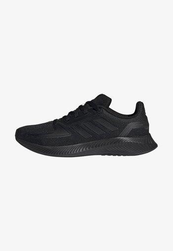 RUNFALCON 2.0 UNISEX - Neutral running shoes - cblack/cblack/gresix