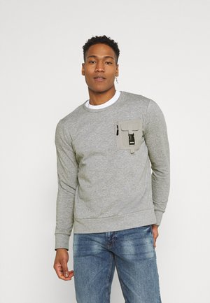 KRAVITZ - Sweatshirt - light grey marl
