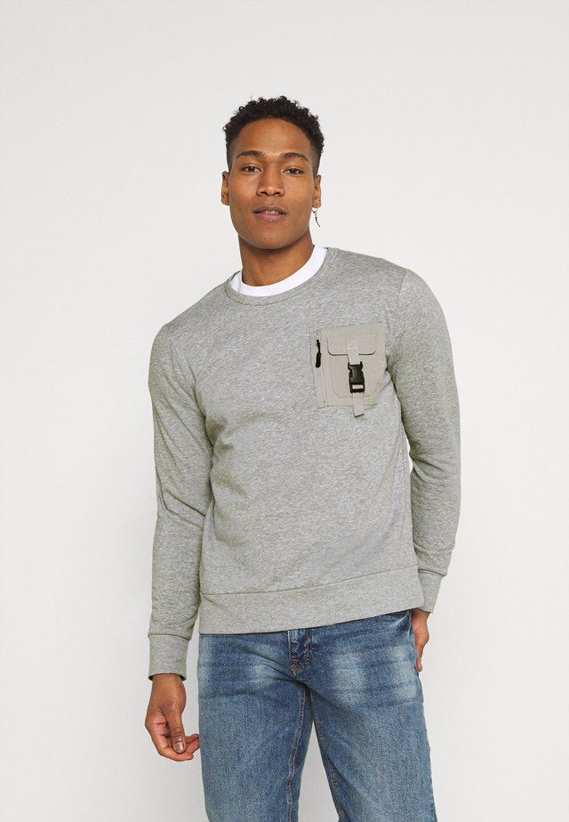 KRAVITZ - Sweater - light grey marl