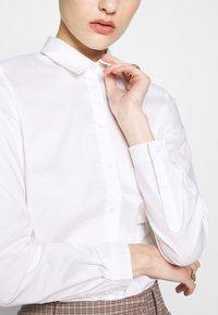 Sisley - Camicia - white - 4