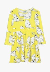 igi natur - LONG DRESS - Jerseykjoler - yellow - 0