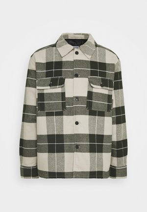 CHRIS CHECKED OVERSHIRT - Tunn jacka - khaki green