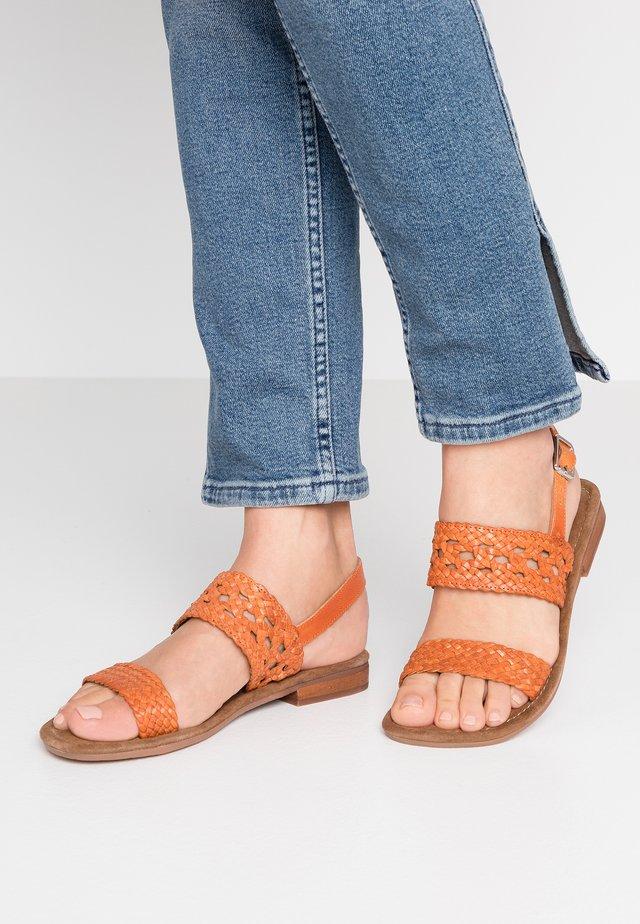 SANDY - Sandals - orange
