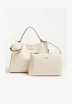 Shopping bag - creme