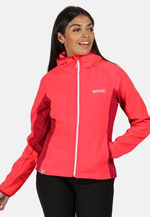 AREC  - Soft shell jacket - coral