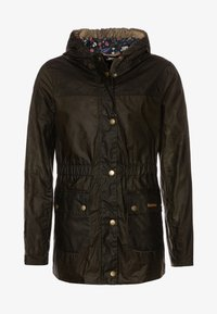 Barbour - GIRLS HAMLET - Waterproof jacket - archive olive - 0