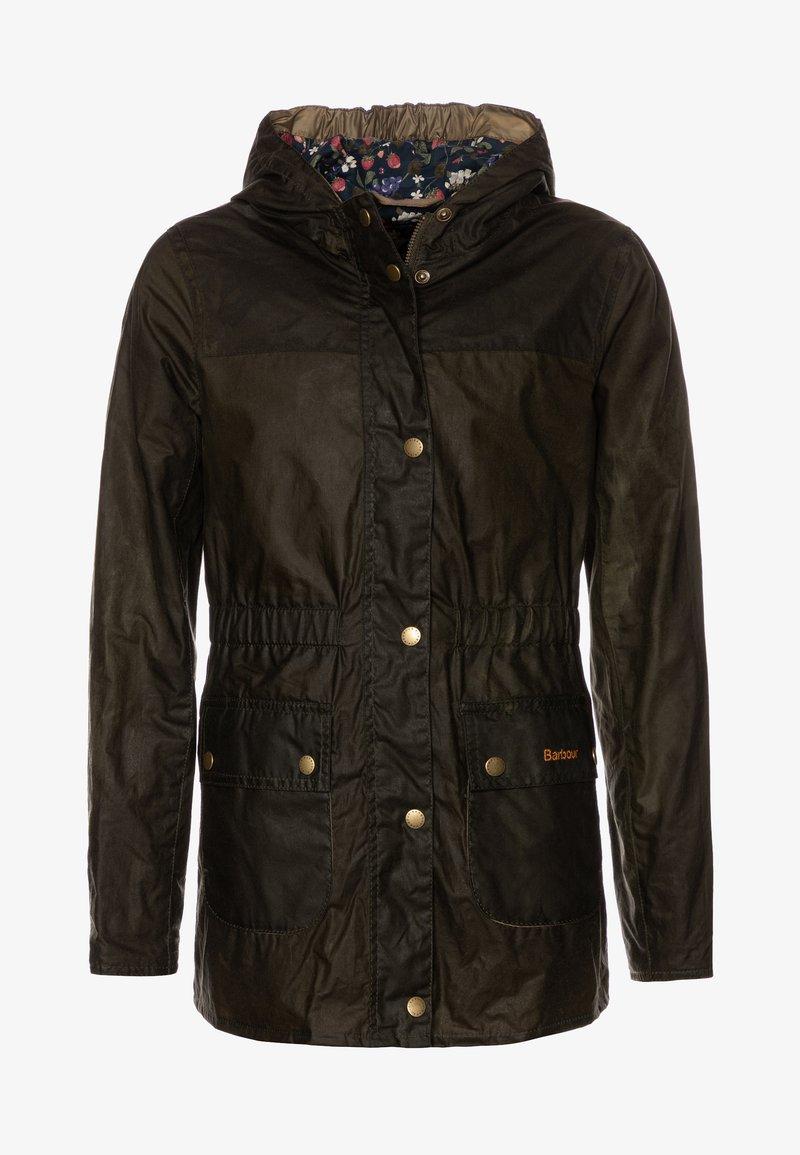 Barbour - GIRLS HAMLET - Waterproof jacket - archive olive