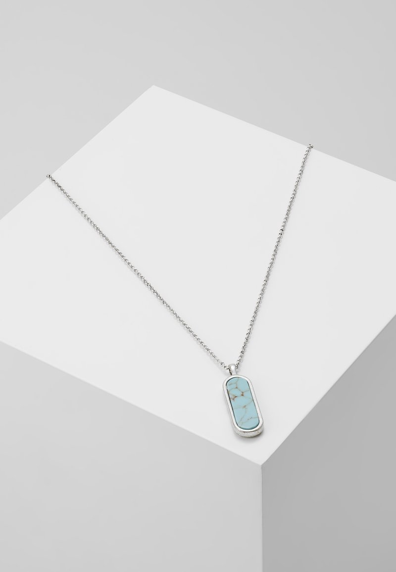 Classics77 - CHARM NECKLACE - Necklace - silver-coloured