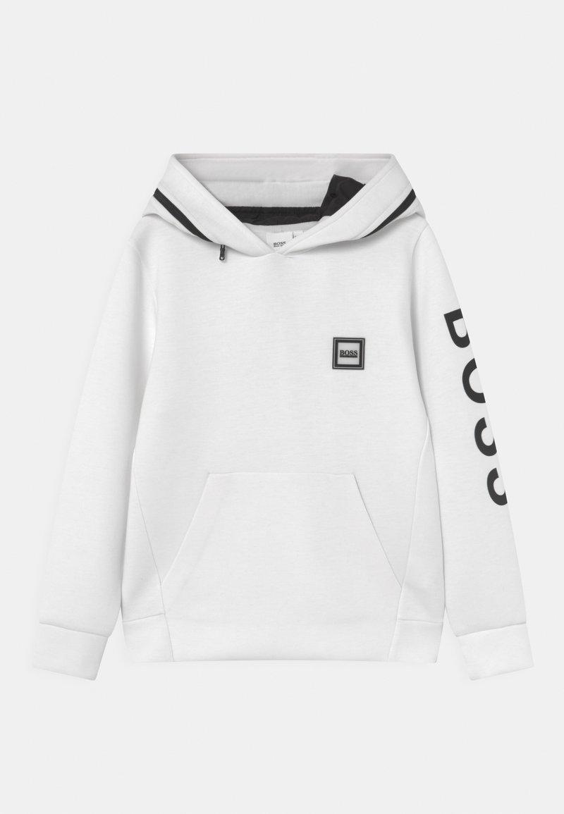 BOSS Kidswear - HOODED  - Long sleeved top - white