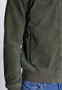 Selected Homme - Skinnjacka - forest night - 4