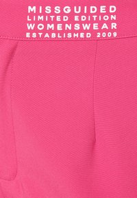 Missguided Plus - TAILORED CIGARETTE TROUSER - Trousers - hot pink - 2