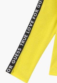 Guess - JUNIOR - Top sdlouhým rukávem - yellow - 4