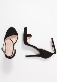 RAID - CRESSIDA - High heeled sandals - black - 3