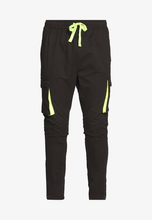 HATFIELD - Cargo trousers - black