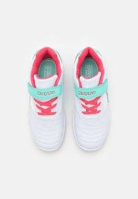 Kappa - DROUM II UNISEX - Sports shoes - white/pink - 3
