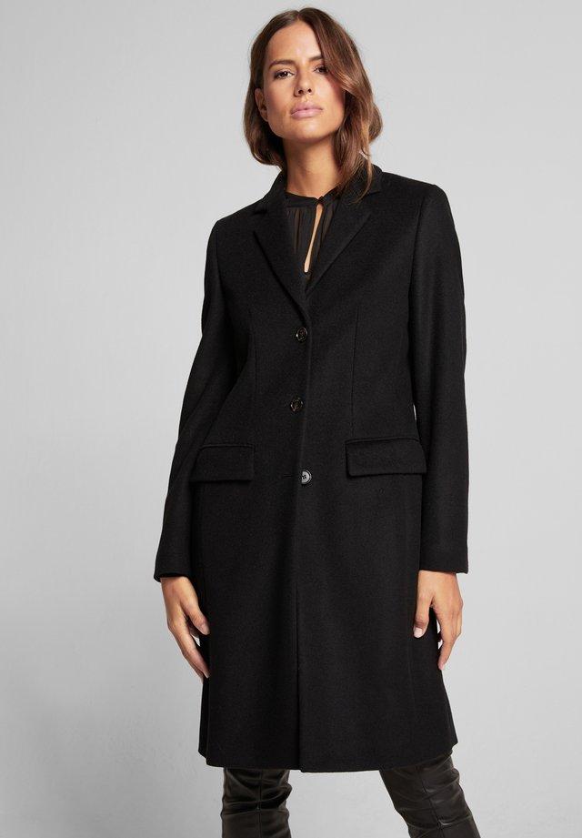 CARLY - Classic coat - schwarz