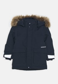 Didriksons - KURE KIDS PARKA - Cappotto invernale - navy - 0