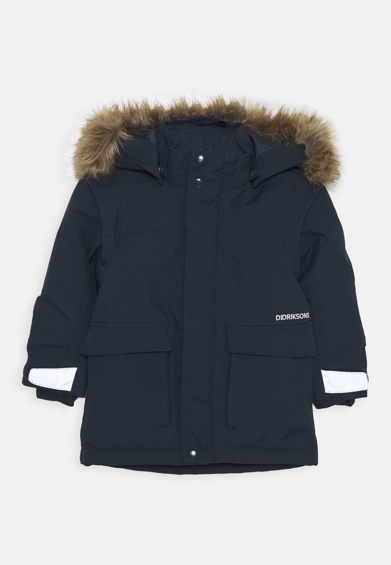 Didriksons - KURE KIDS PARKA - Cappotto invernale - navy