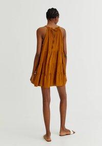 PULL&BEAR - Day dress - mottled beige - 1