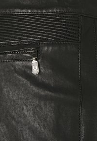 Belstaff - FREYA TROUSER - Leather trousers - black - 6