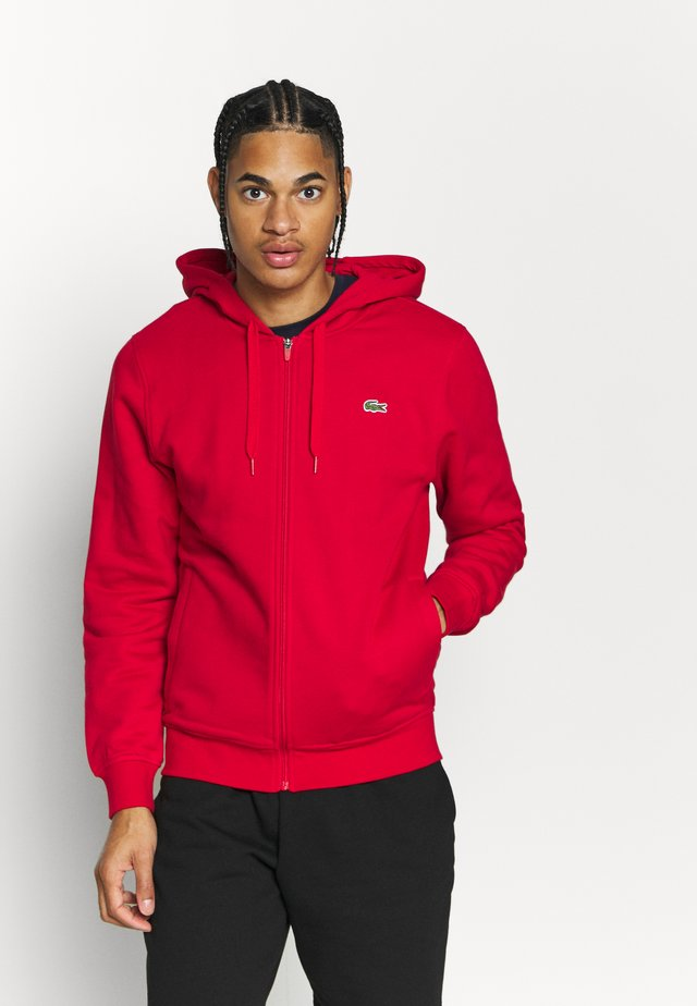 CLASSIC HOODIE JACKET - veste en sweat zippée - red