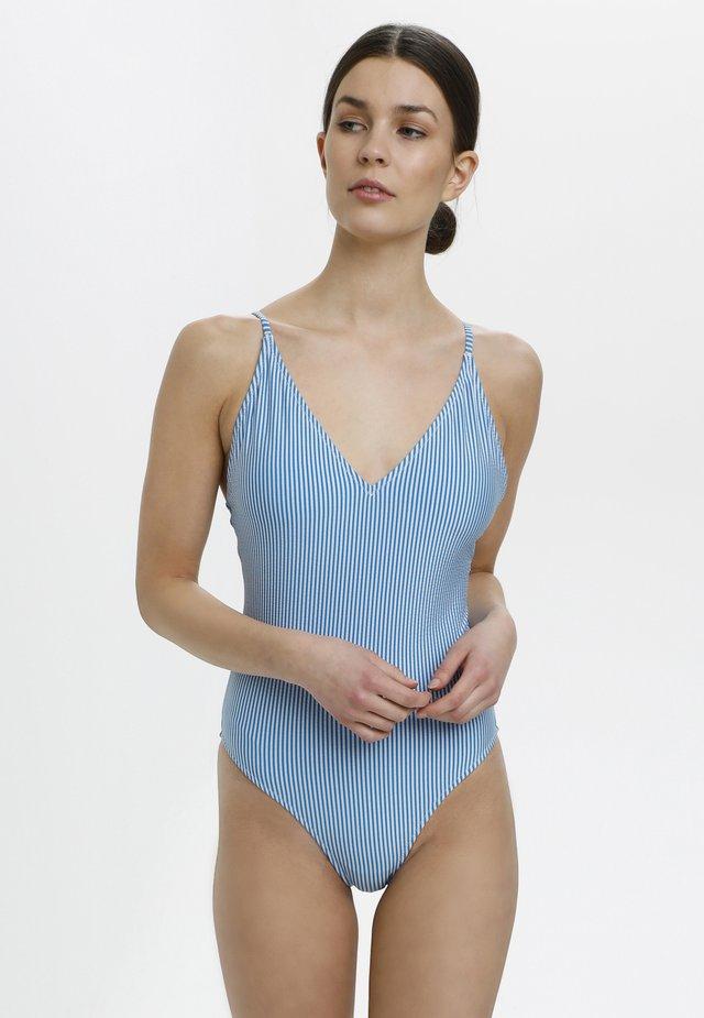 Costume da bagno - blue stripes
