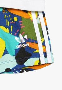 adidas Originals - SHORT SET - Stoffhose - white/multicolor - 3