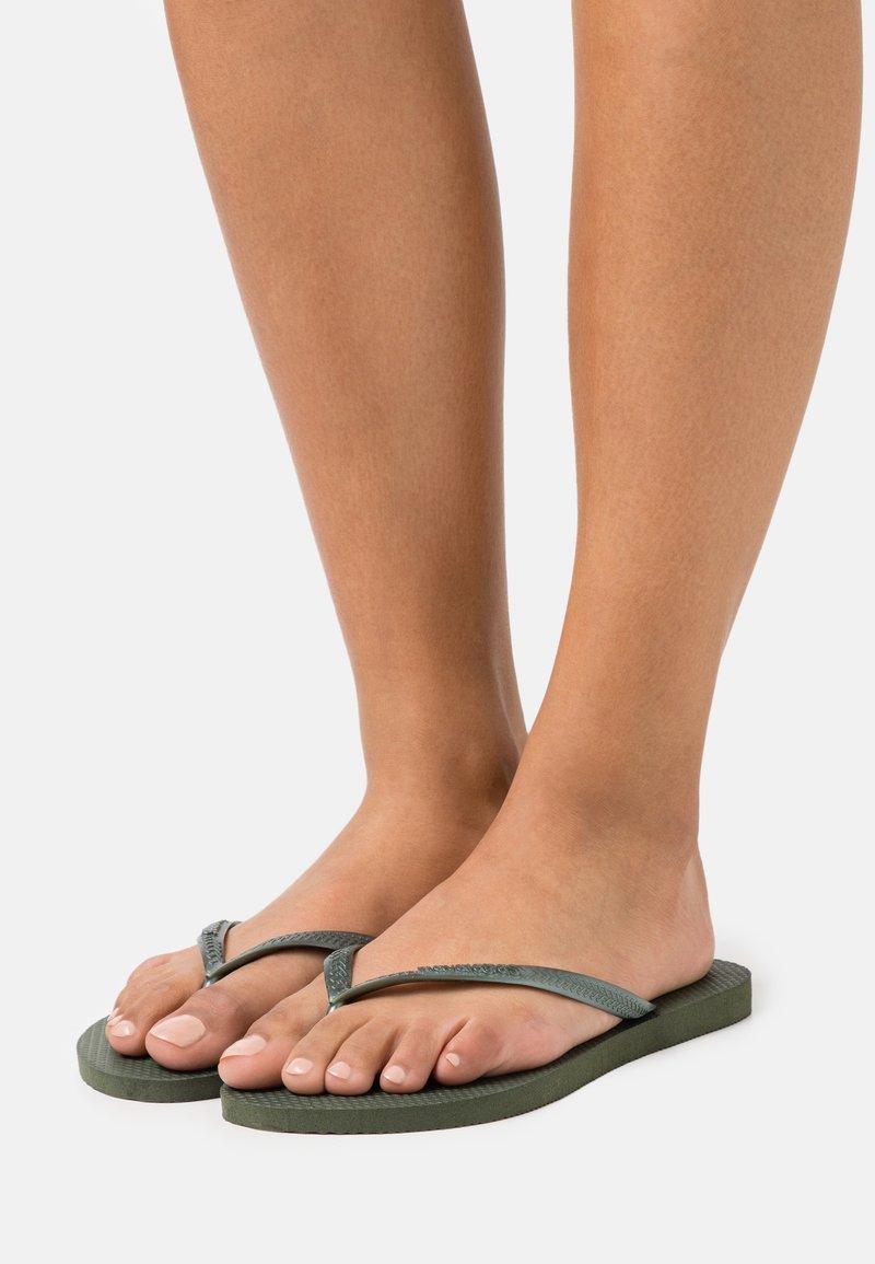 Havaianas - KIDS SLIM - Pool shoes - olive green