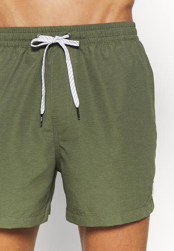 Swimming shorts - four leaf clover heather