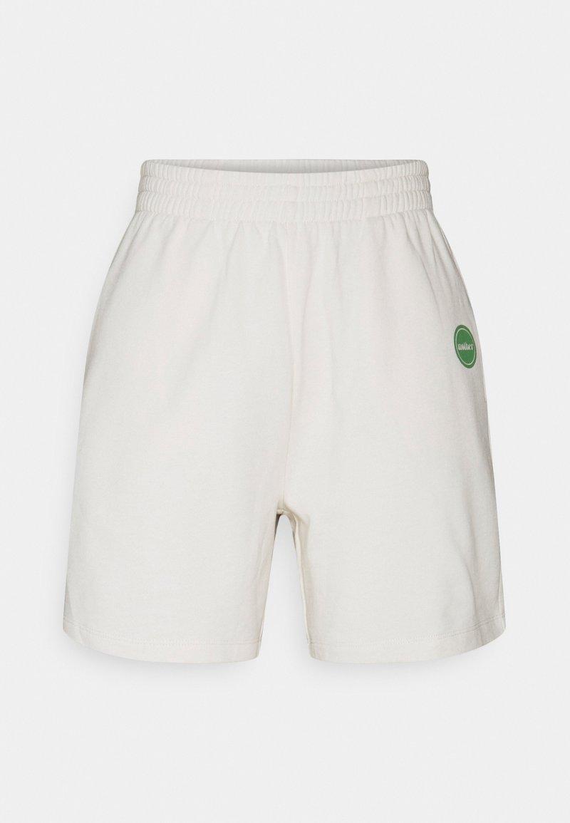 Gina Tricot - UNISEX PARENT SHORTS - Shorts - tofu