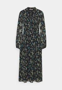 Anna Field - VOLANT MAXI DRESS PRINTED - Day dress - black/blue - 0