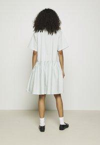 Résumé - DELMARA DRESS - Shirt dress - dusty green - 3