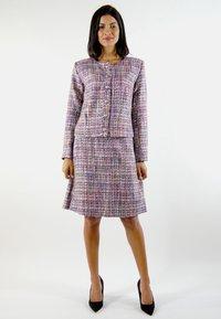 Aline Celi - GABRIELLE - A-line skirt - red/blue/white - 1