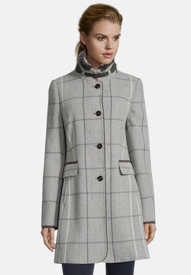 MIT STEHKRAGEN - Winter coat - silver/grey