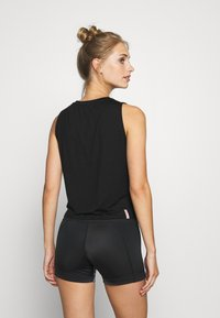 Yogasearcher - TWIST - Top - deep black - 2