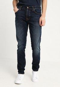 Nudie Jeans - GRIM TIM - Jeans slim fit - ink navy - 0